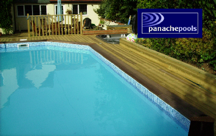 premium wooden pool, premium wooden pools